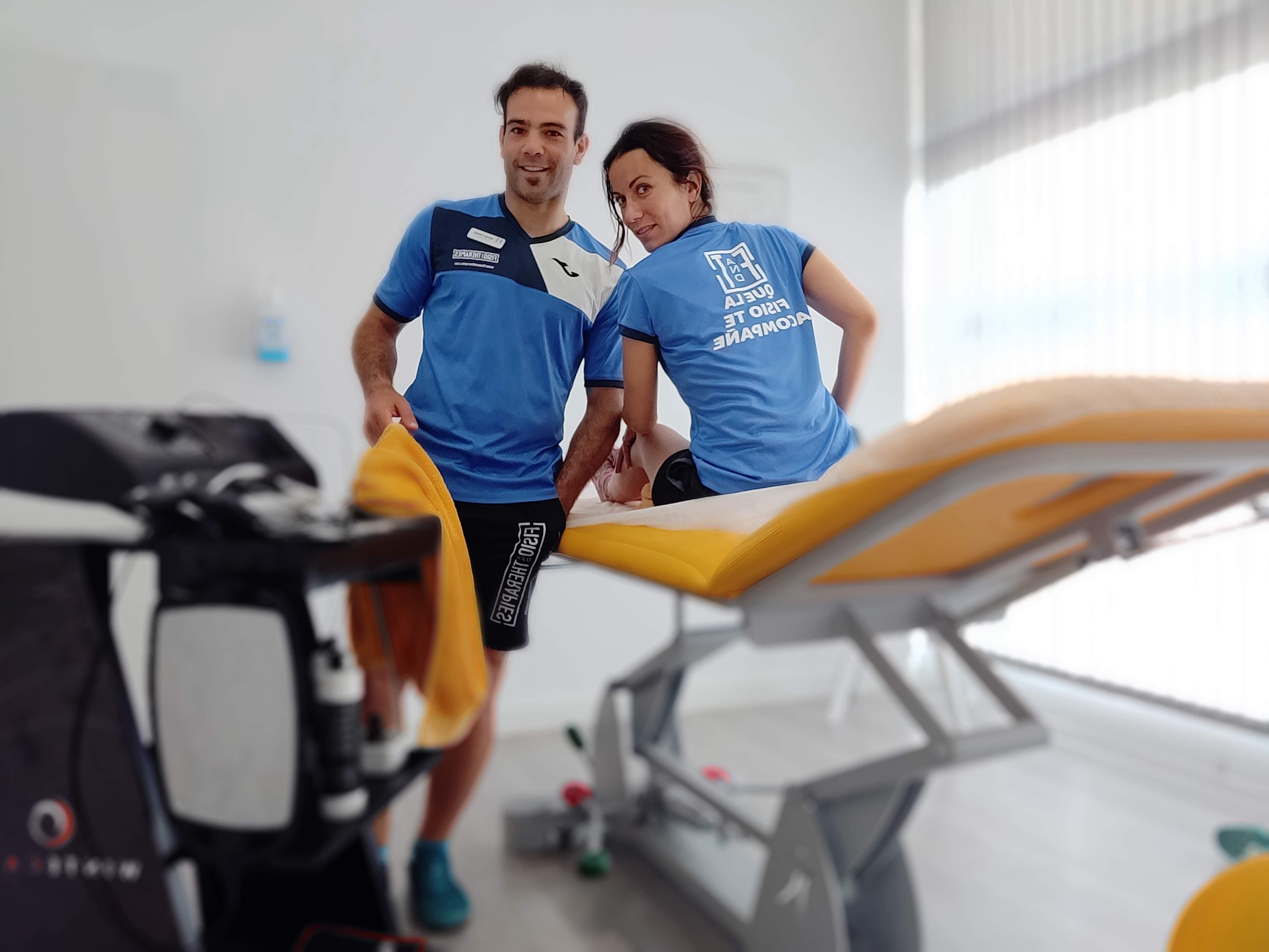 Nuestro Fisioterapeuta Sergio Torres