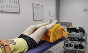 Descarga de piernas con Fisioterapia en Alcalá de Henares