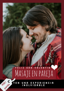 Curso de masaje en parejas, un regalo ideal