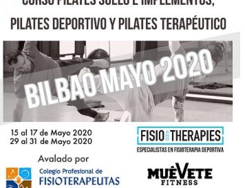 Curso de Pilates para Fisioterapeutas y CAFYD