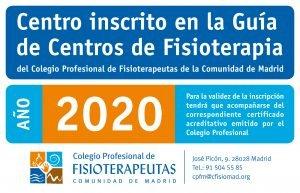 La clínica de Fisioterapia en Alcalá de Henares FisioandTherapies está registrada en el colegio oficial de fisioterapeutas de madrid