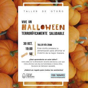 charla sobre nutrición para Halloween