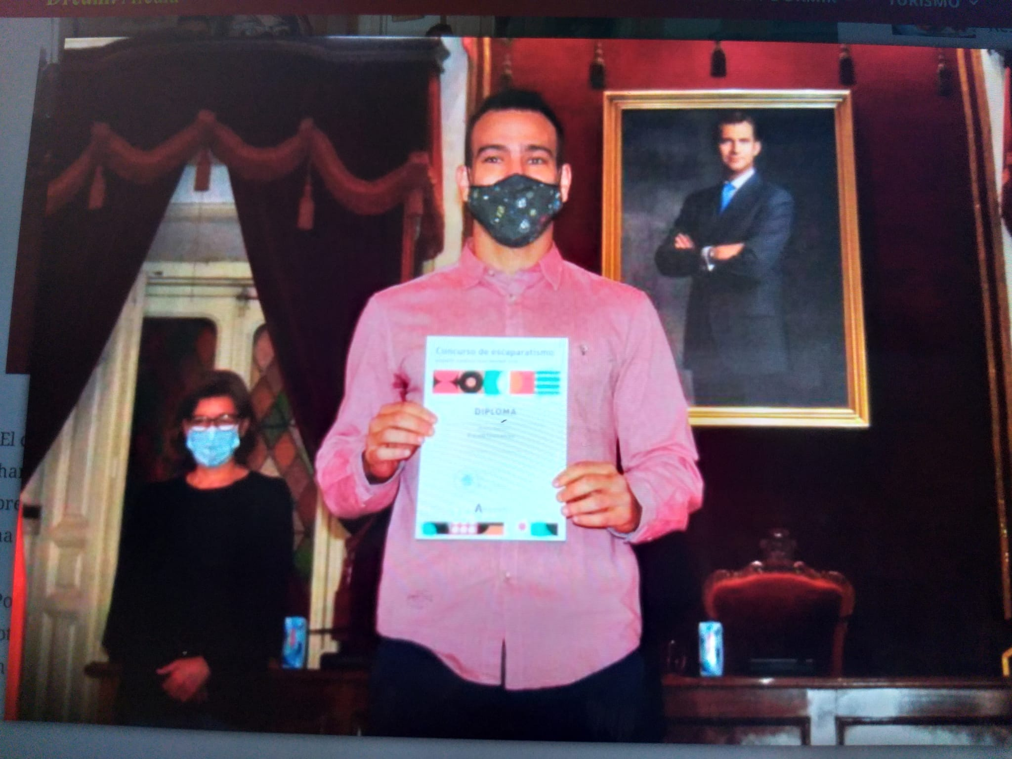 FisioandTherapies gana el concurso de paginas web de ALcala de Henares