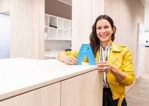 Alba recibió el premio a mujer autonoma de madrid