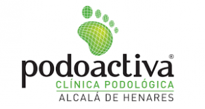 logo de la clínica de podología en alcala de henares